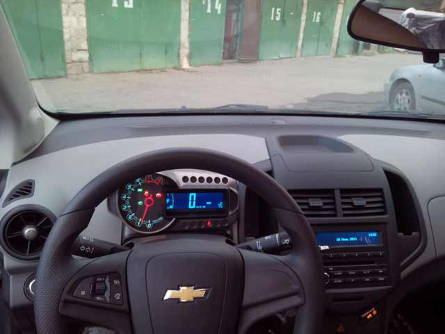 Car Rent Chisinau, Moldova - Chevrolet Aveo black10
