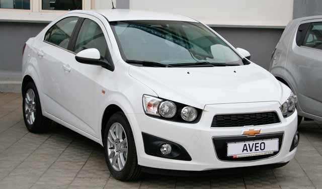 Car Rent Chisinau, Moldova - Chevrolet Aveo black8