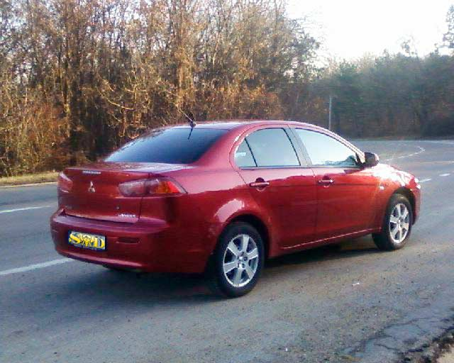 Rent a Car Chisinau Moldova - Mitsubishi Lancer